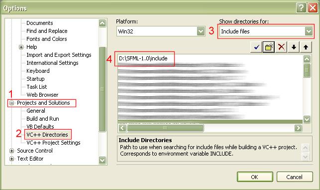 SFML and Visual Studio (SFML / Learn / 1 6 Tutorials)