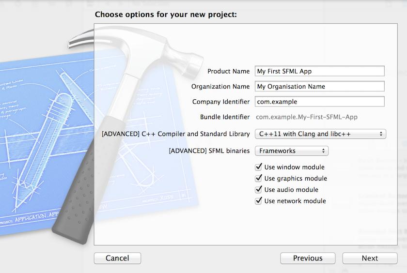 instalacja sfml dev c++  windows
